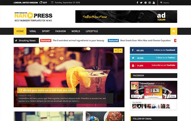 nanopress-blogger-magazin-teması