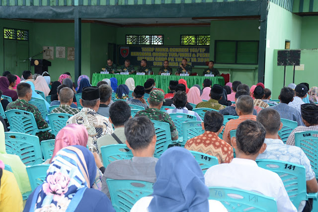 Wujud Transparansi Seleksi TNI AD, Kasi Pers Korem 141/Tp Tatap Muka Orang Tua/Wali Peserta Seleksi Secaba