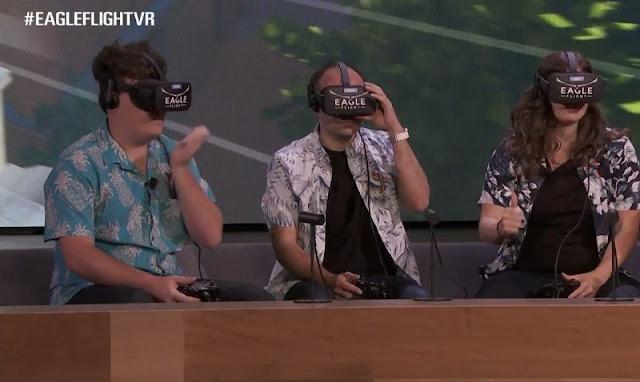 Eagle Fighth será o primeiro dos games de realidade virtual que a Ubisoft estreia em outubro. Confira todas as datas.