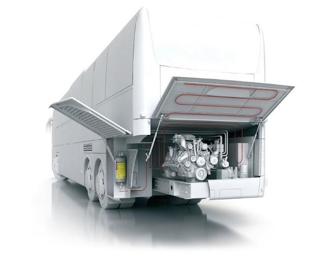 Sistem complet detectie stingere incendii vehicul