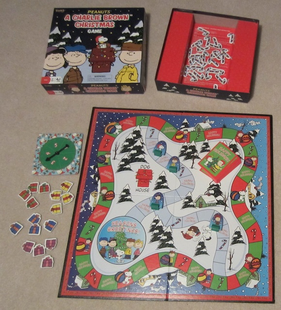 Spiele Charlie Brown Christmas Board Game