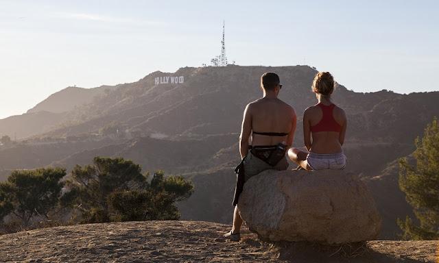 Turistas em Los Angeles