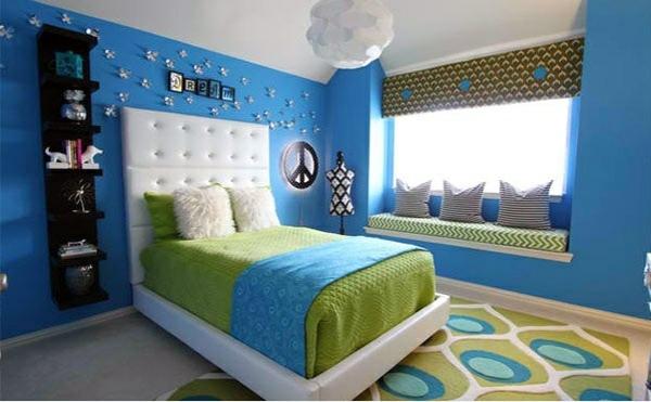 Genç kızlar İçin yatak odası fikirleri