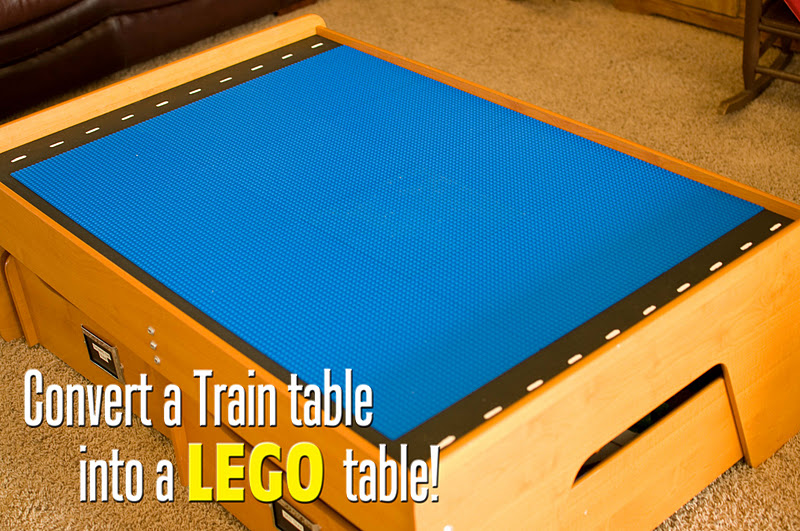 Train Table To Lego Table