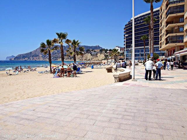 Calpe (Alicante).