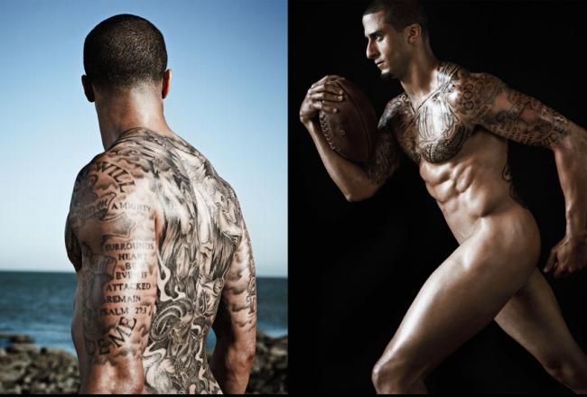 Colin Kaepernick - 2013 Body Issues Bodies We Want - ESPN