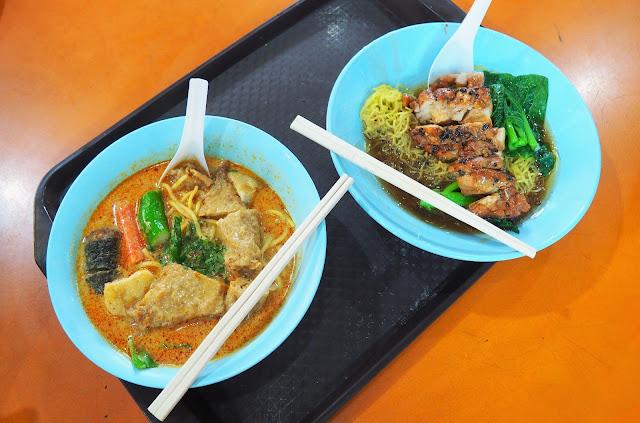 Maxwell Foodcourt Singapur