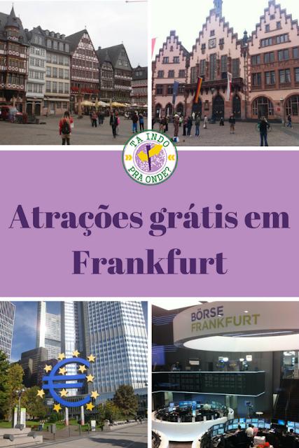 O que ver e fazer de graça em Frankfurt