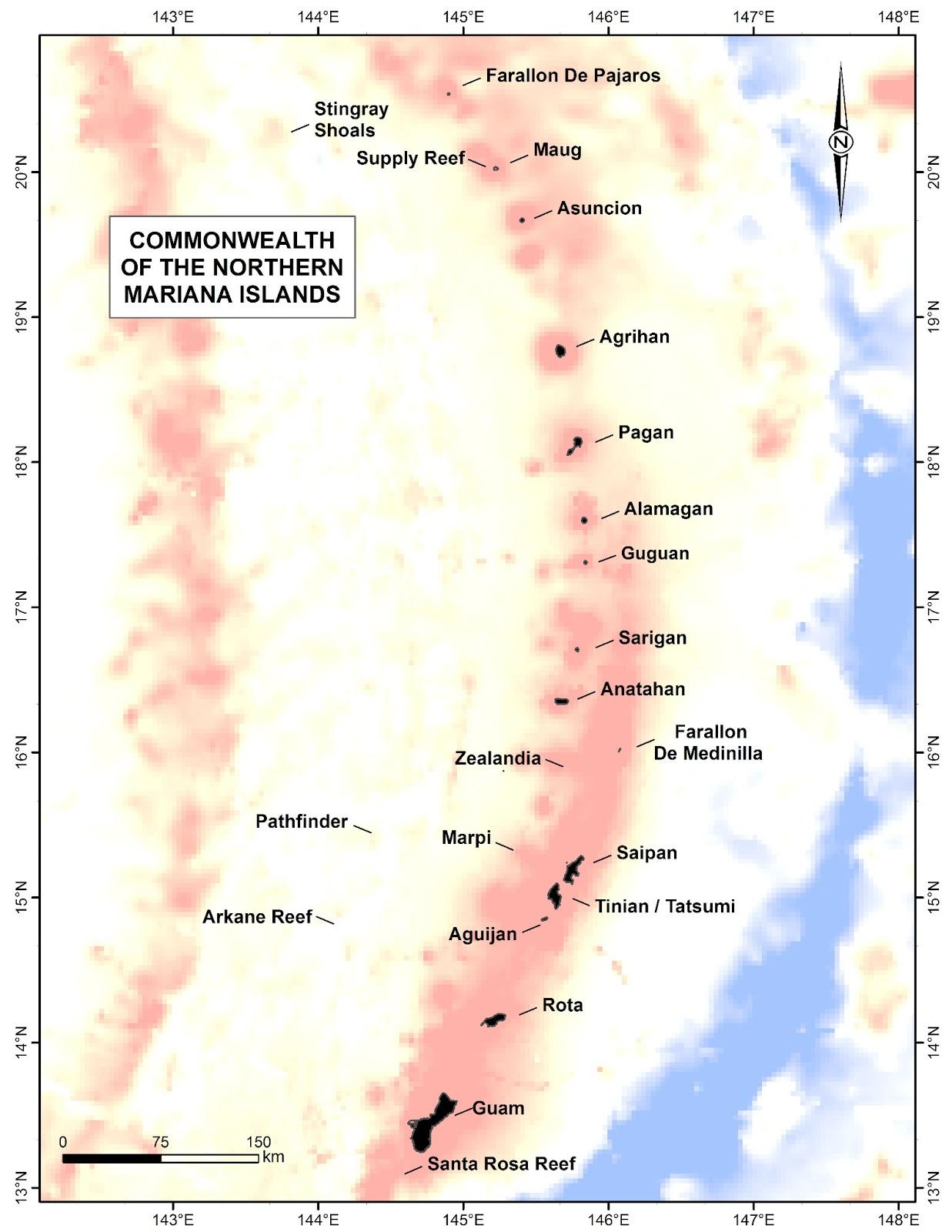 Ilhas Marianas do Norte | Estados Unidos da América