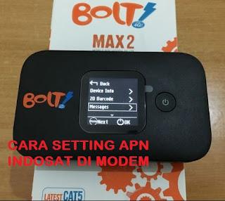 Cara Setting Apn Indosat Ooredoo Untuk Modem