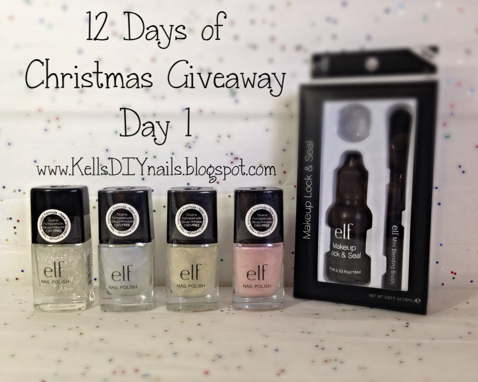 Kell S Diy Nails Day 1 Of My 12 Days Of Christmas Giveaway