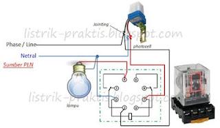 modifikasi instalasi photocell tanpa drop tegangan