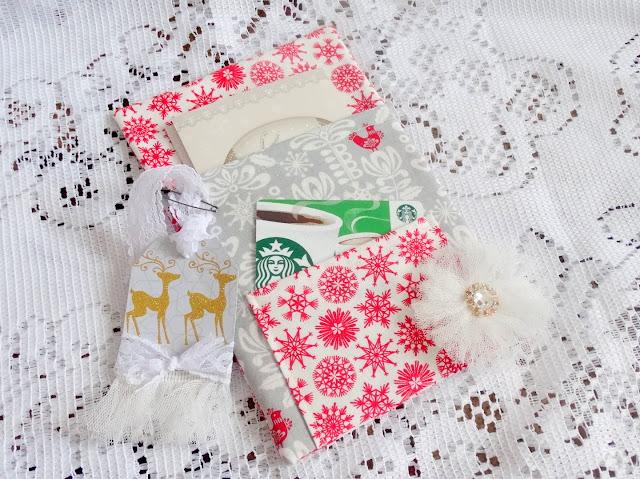 Handmade Gift Card Holder The Enchanting Rose