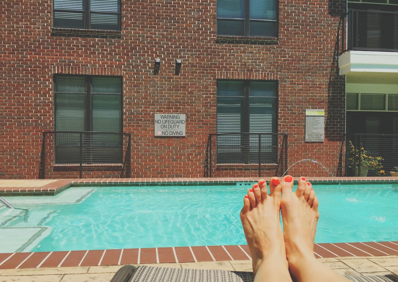 pool day in Houston, Texas