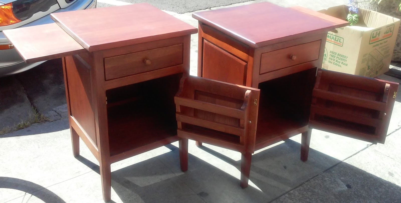 uhuru furniture collectibles sold asian teak office end