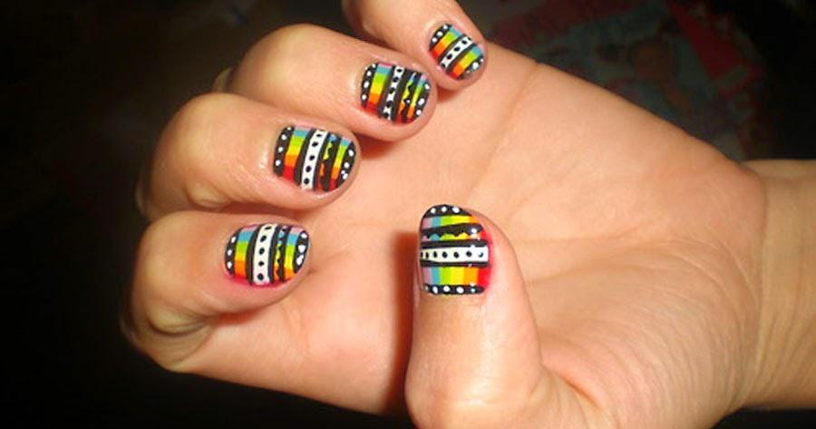 50 Nail Art Designs For Beginners | Fashionip