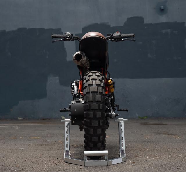 KTM 390 Duke By Colt Wrangler Hell Kustom