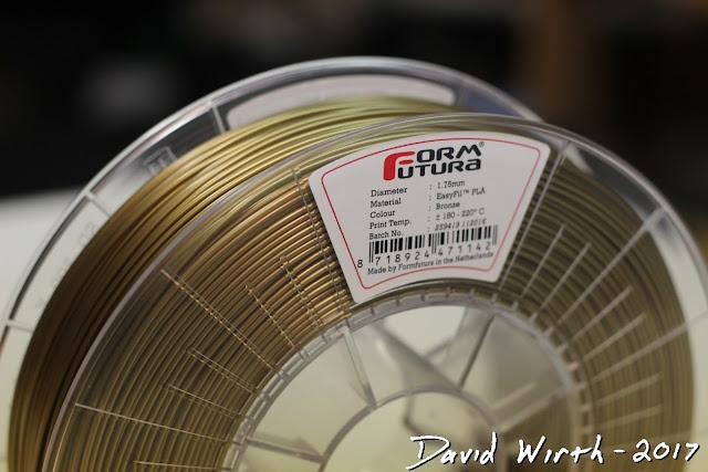 metalic 3d printed filament