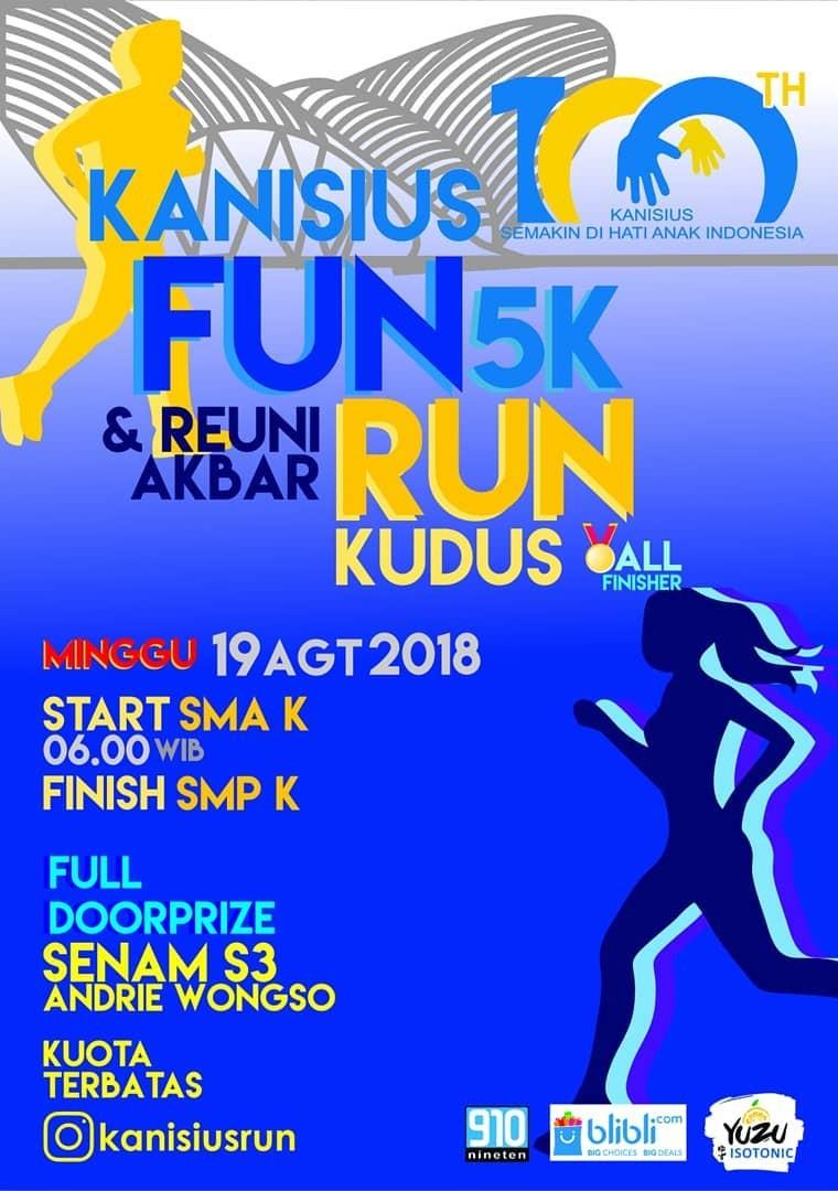 Kanisius Fun Run • 2018