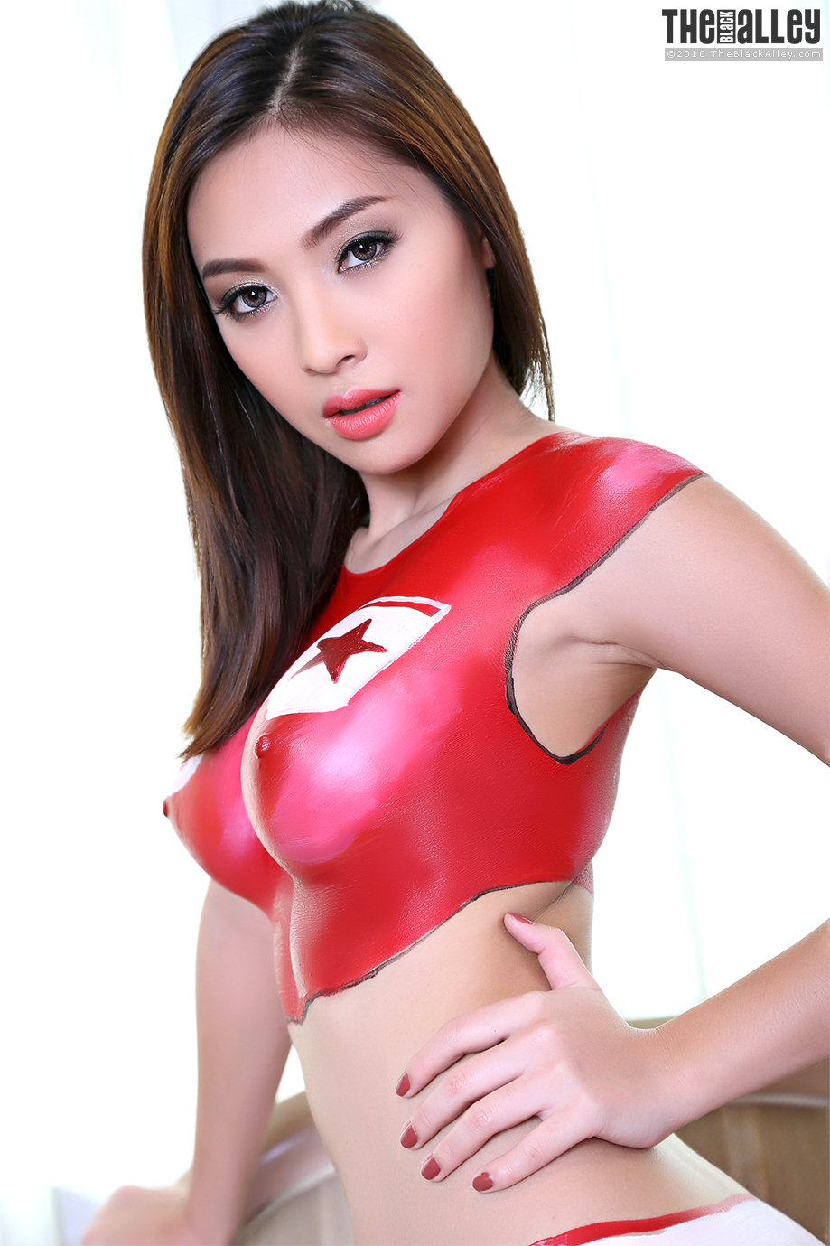 hot girls body paint