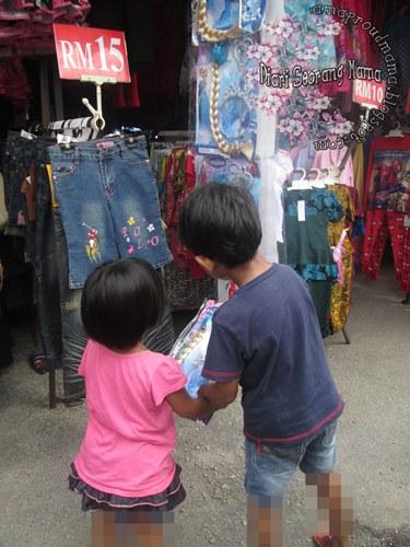 Menjelajah Pasar Karat Shah Alam