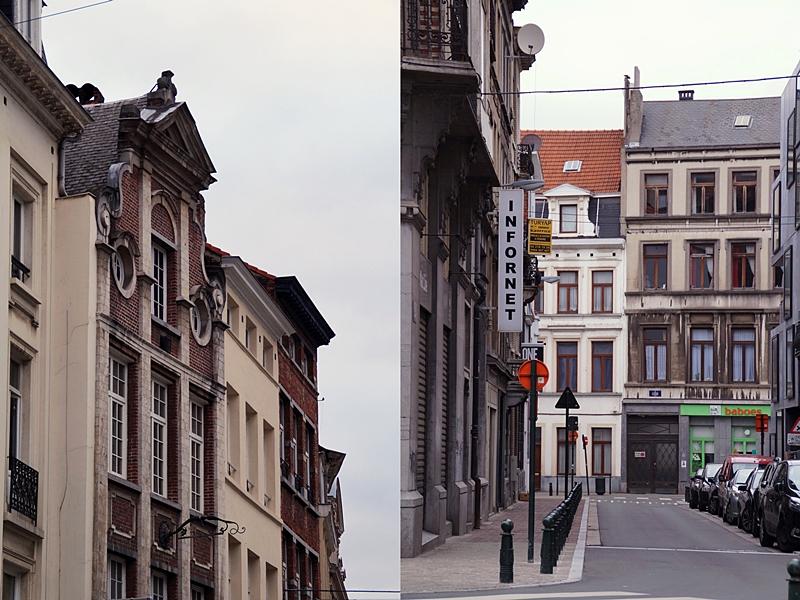 Brüsseler Straßen, Historische Fassaden und Groote Markt