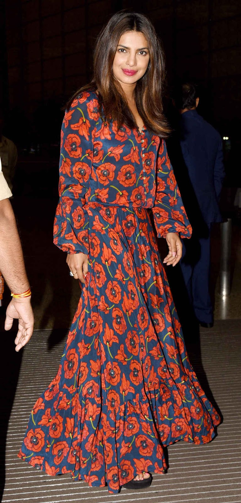 Actress Priyanka Chopra Spotted at Mumbai Airport.