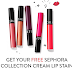 Free Sephora Collection Cream Lip Stain!