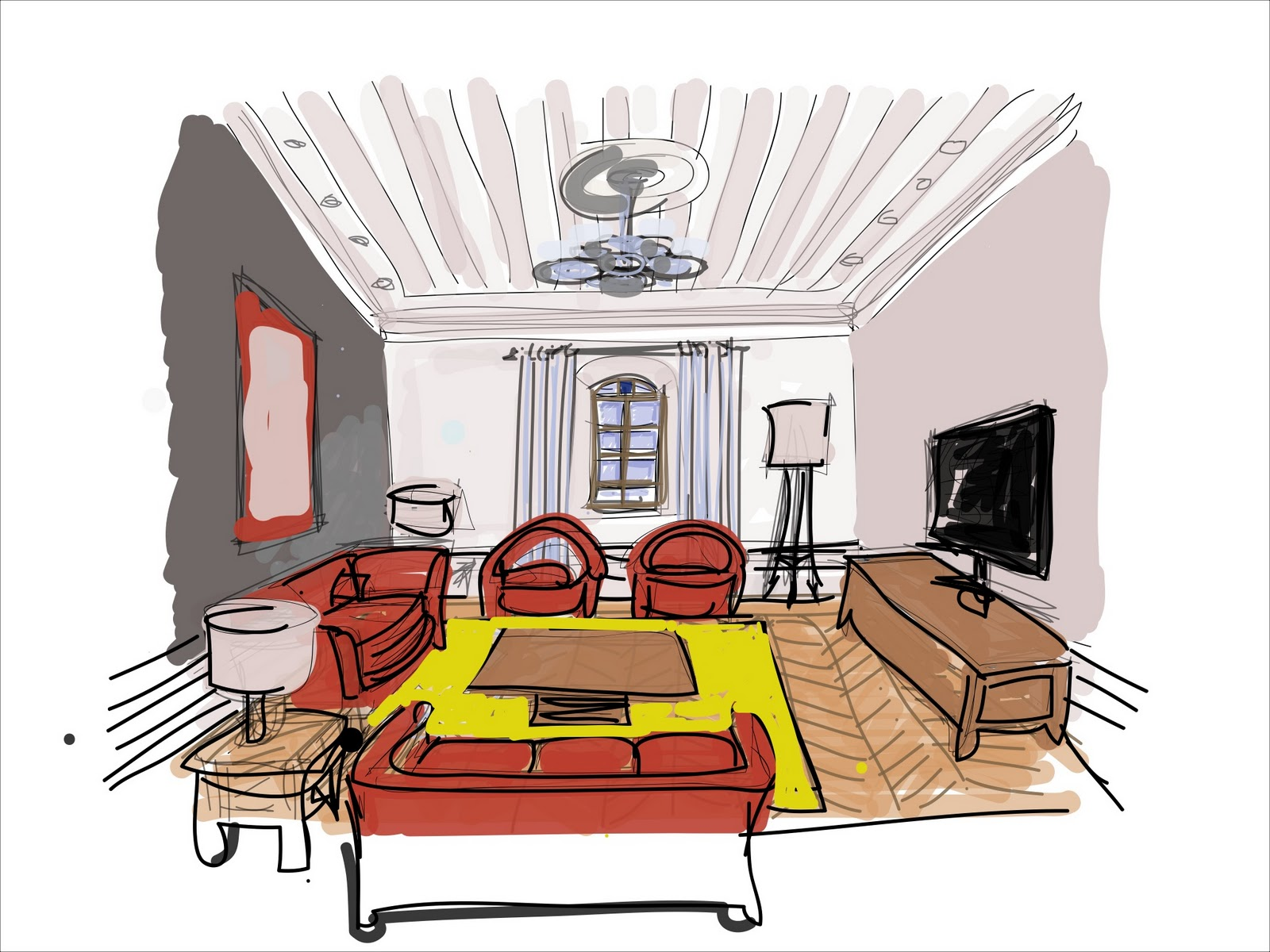 Thesis interior design showrooms Home
