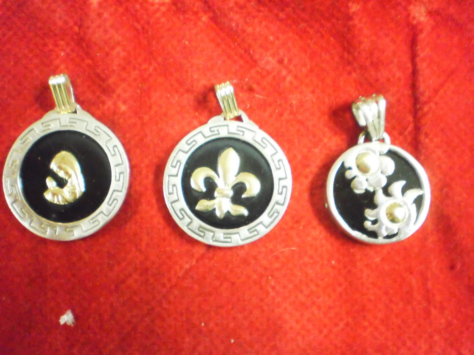 ecc67f96781a Aghata joyas  Dijes plata oro y onix