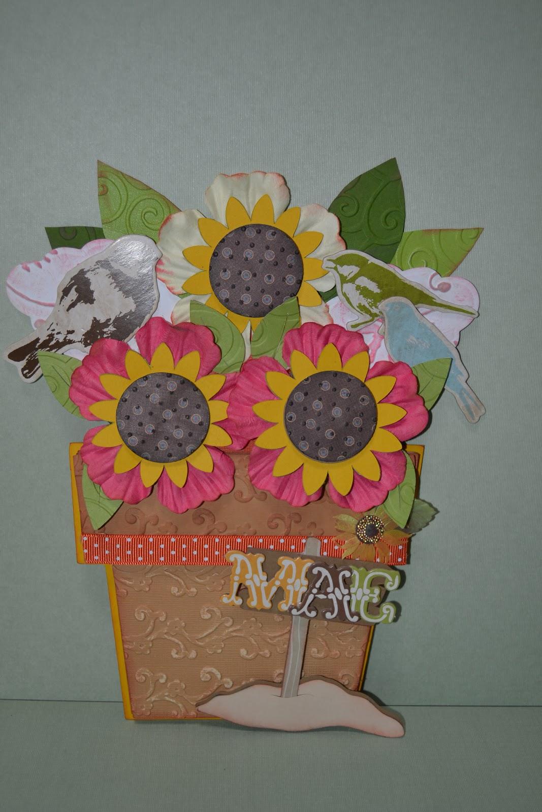 make life a creation mother's day flower pot pocket c