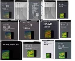 baterai original Nokia (Nokia original battery)