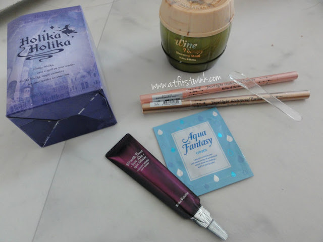 Holika Holika purchases and freebies