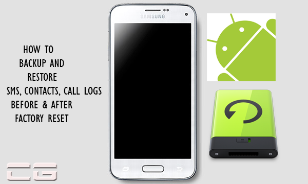 restore all your text messages, contacts, call logs