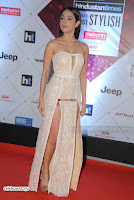 Nushrat Bharucha Looks stunning in a deep neck leg Split cream designer gown stunning beauty ~  Exclusive 009.JPG