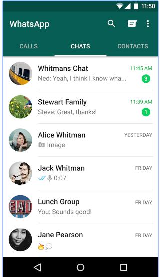 Aplikasi Chat Terpopuler