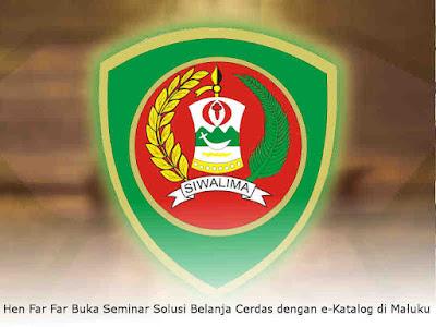 Hen Far Far Buka Seminar Solusi Belanja Cerdas dengan e-Katalog di Maluku
