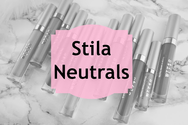 stila fave nude neutral stay all day liquid lipstick caramello perla patina swatches