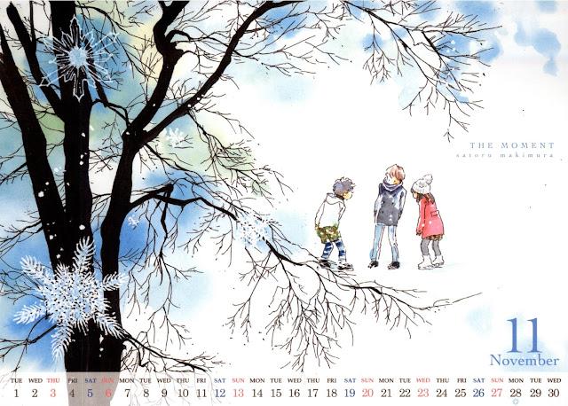 2016-11 Calendar Cocohana Makimura Satoru - The Moment