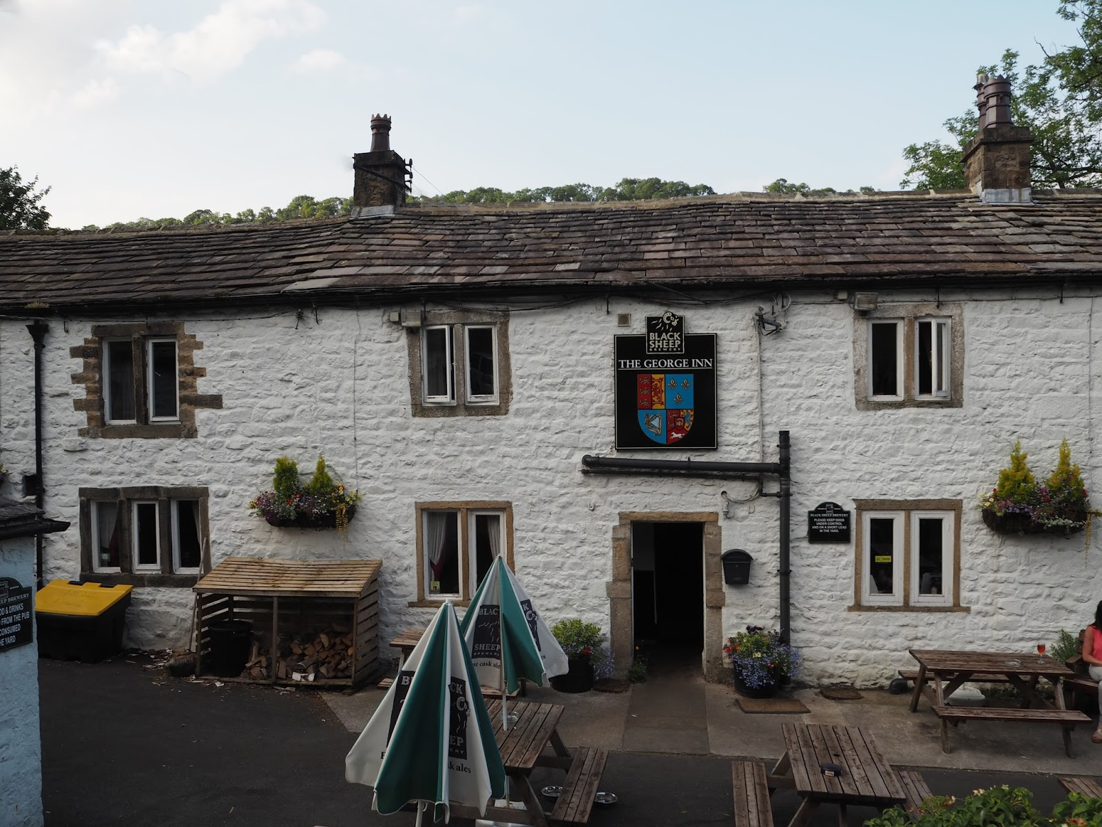 Review of The George Inn, Hubberholme, Skipton, North Yorkshire, Yorkshire Dales pub