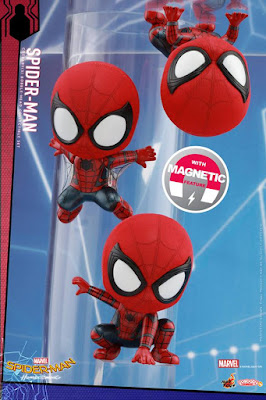 Spider-Man: Homecoming Cosbaby Mini Figure Series by Hot Toys