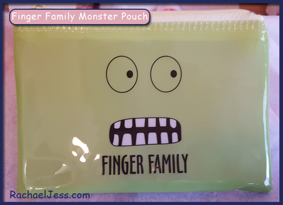 Finger Family Monster Pouch