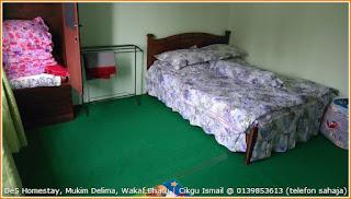 Gambar bilik single queen dengan bantar tambahan di De5 Homestay Mukim Delima Wakaf Bharu Kelantan. bogel telanjang seksi sendat melekat abg sma puki cipap