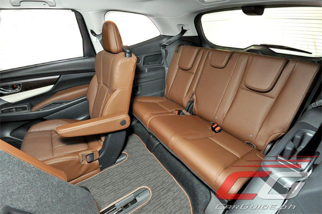 Subaru ventilated seats