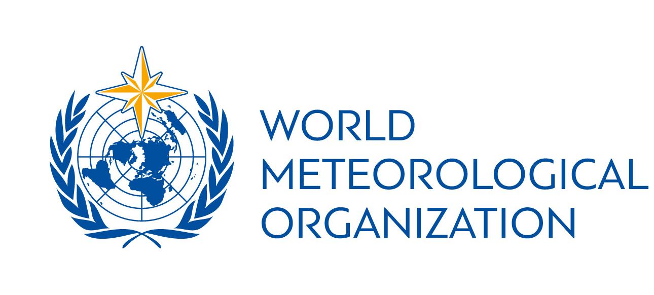 Logo da Organização Meteorológica Mundial (OMM)