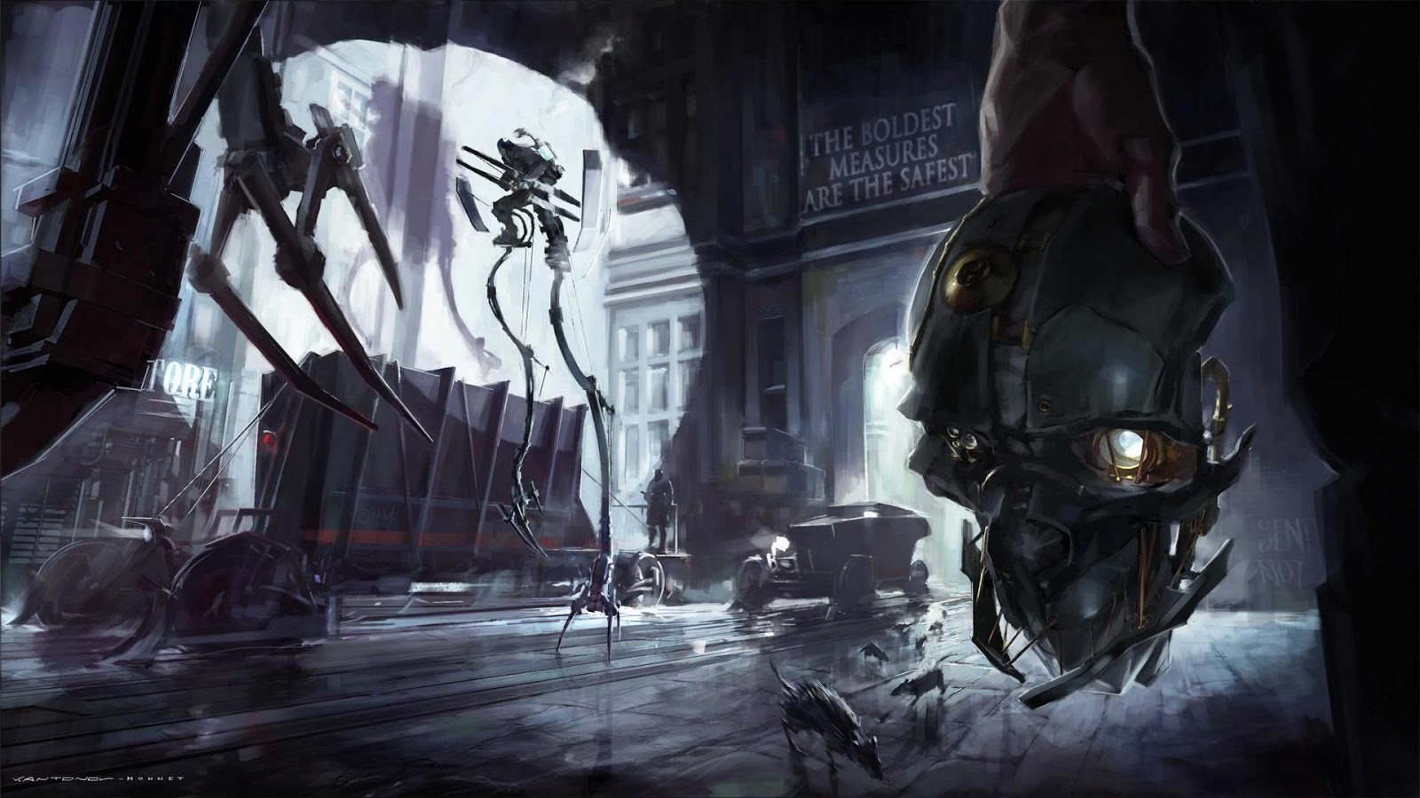 Dishonored Fan Art Corvo Video Games Wallpapers Hd: GAMEZONE: Dishonored Ps3