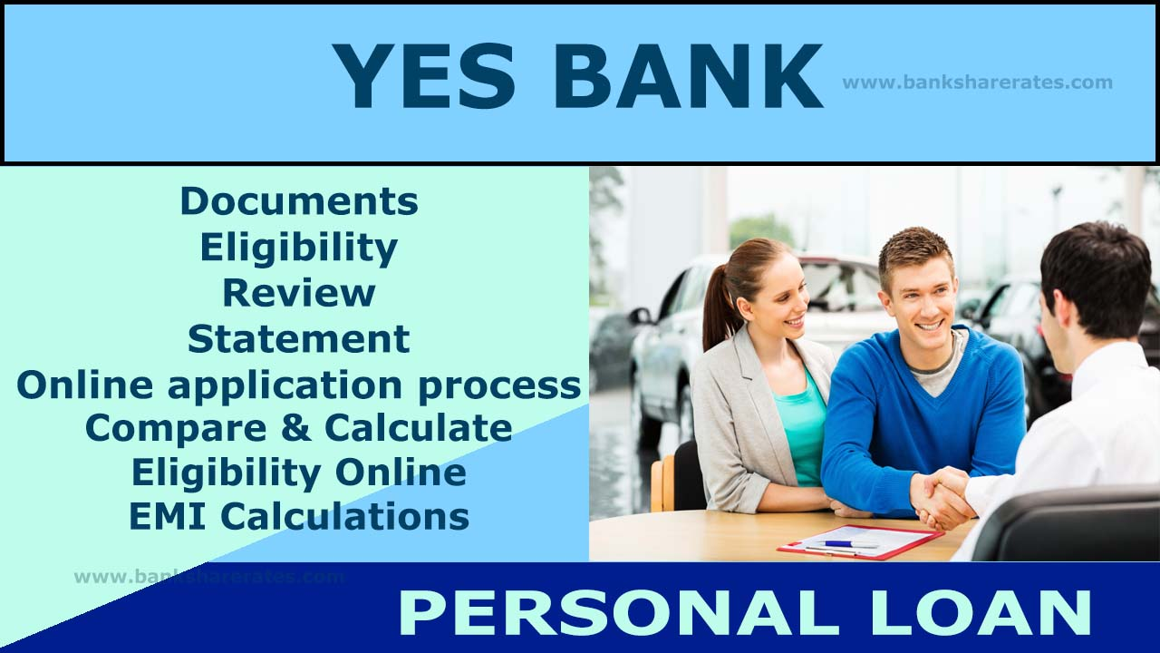 Yes Bank Personal Loan Interest Rate July 2017 1400