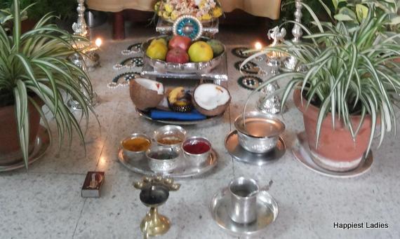 Vara MahaLakshmi festival offerings