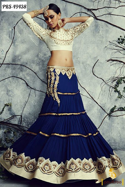New Lehenga Style Navratri Anarkali Dress in Affordable Price