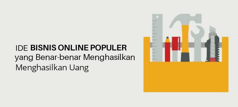 Ide bisnis online populer